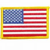 Patch USA Flagge, orginal