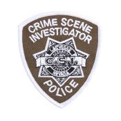 Patch CSI Crime Scene Investigator