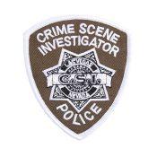 Patch CSI Crime Scene Investigator