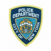 Patch NYPD New York Police Department