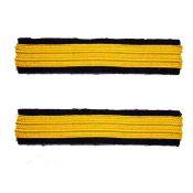 NVA Ärmelstreifen gold (Paar) Ausführung 1