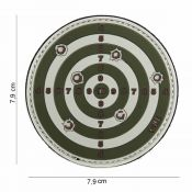 Rubber Patch Target, oliv