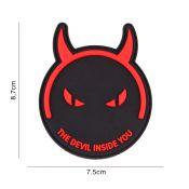 Rubber Patch The Devil Inside You, schwarz