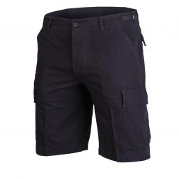 Shorts US Rip Stop, schwarz washed