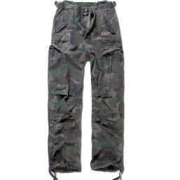 M65 Vintage Trouser von Brandit, woodland