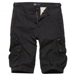 Shorts Gandor von Vintage Industries, schwarz