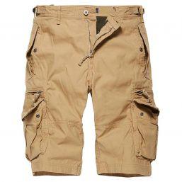 Shorts Gandor von Vintage Industries, sand