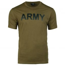 T-Shirt Army, oliv