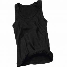 Tank Top Ripp Woman, schwarz