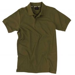 Poloshirt Pikee, oliv