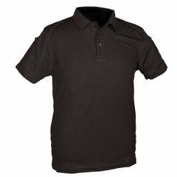 Poloshirt Quick Dry, schwarz