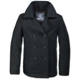 Pea Coat von Brandit, schwarz