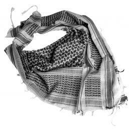 Shemagh Halstuch, weiß-schwarz