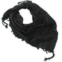 Halstuch Shemagh, uni-schwarz