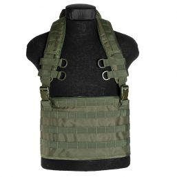 Tactical Weste Chest Rigg Molle, oliv