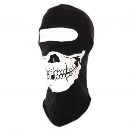 Sturmhaube Skull, schwarz