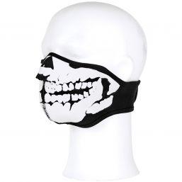 Neopren Gesichtsschutzmaske Skull, schwarz