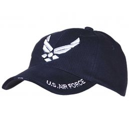 Baseball Cap US Airforces, blau