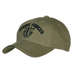 Baseballcap Special Forces, oliv