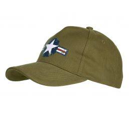Baseballcap US Airforce, oliv