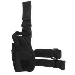 Tiefziehholster für Linkshänder, schwarz