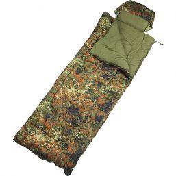 Israelischer Piloten-Schlafsack, flecktarn