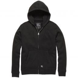 Hooded Zip Jacke Redstone von Vintage Industries, schwarz