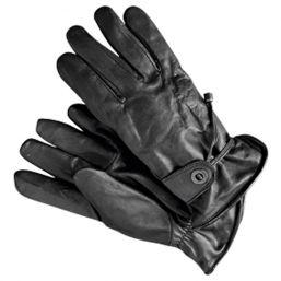 Lederhandschuhe Rodeo, schwarz