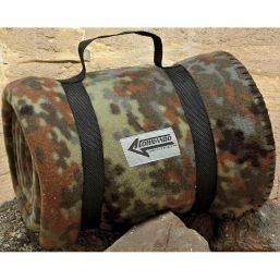 Commando Fleece Decke, flecktarn