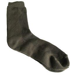 Socke Coolmax, oliv