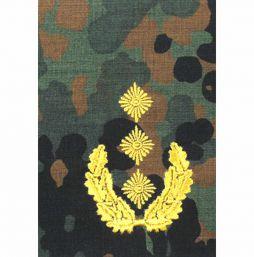 Rangschlaufen Heer tarn/silber bzw. tarn/gold, Generalleutnant