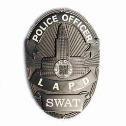 Badge Police Officer LAPD SWAT