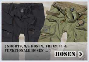 Strapazierfähig und robust - dafür sind die Army Hosen von TRUMAN bekannt. Ob für die Freizeit oder für Ihre Outdoortouren, die Army Hosen von TRUMAN können Sie jederzeit tragen.